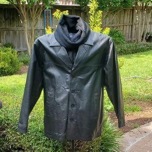 Men's floorless Premium Leather Jacket-